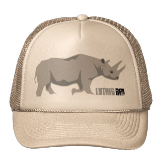"""Luther Red """"Reno"""" Trucker Hats"""