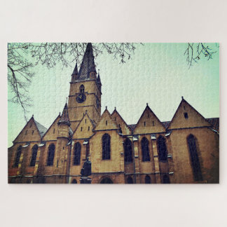 Lutheran Cathedral of Sibiu Jigsaw Puzzle