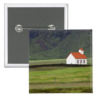 Lutheran Church, Iceland 15 Cm Square Badge