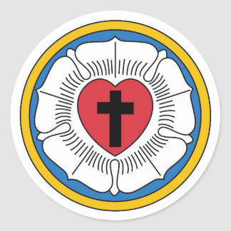 Lutheran Coat of Arms Sticker