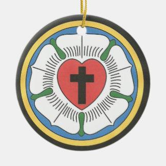 Lutheran Seal Ceramic Ornament