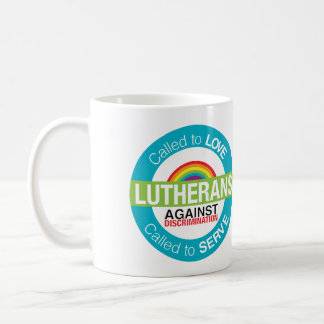 """Lutherans Against Discrimination"" Mug"