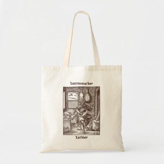 Luthier / Lute-maker / Lutenmacher Tote Bag