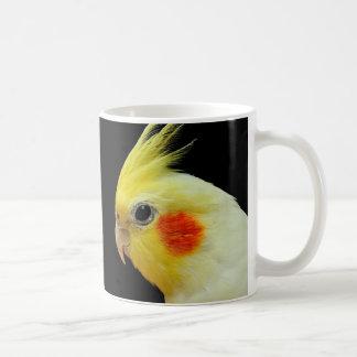 Lutino Cockatiel Coffee Mug