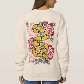 LUV1 SNAKE SWEAT SWEATSHIRT
