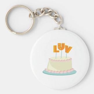 Luv Cake Key Chains