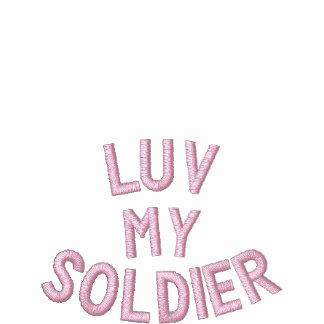 Luv My Soldier tee by SweetKitten