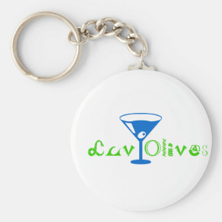 """""""Luv Olives"""" , the keychain"""