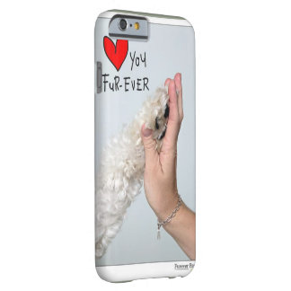 luv u fur-ever barely there iPhone 6 case