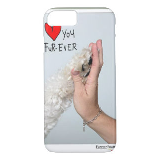 luv u fur-ever iPhone 7 case