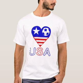 Luv USA Soccer T-Shirt