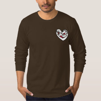 Luvin Arms heart only full sleeve t-shirt