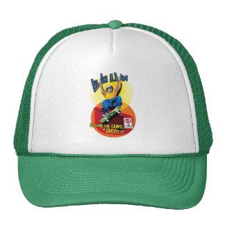 Luvin Livin Skater Graphic Trucker Hat