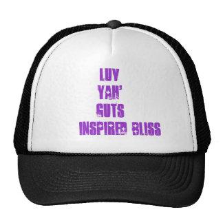 LuvYah'Guts@inspired bliss. Basic Cap