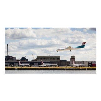 Lux Air London City Airport Customized Photo Card