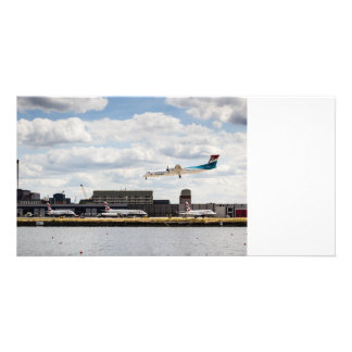 Lux Air London City Airport Picture Card