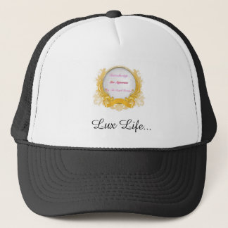 Lux Appearanz brand head wear. Trucker Hat