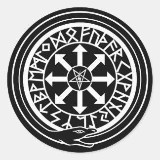 Lux Occulta - Hidden Light Round Sticker