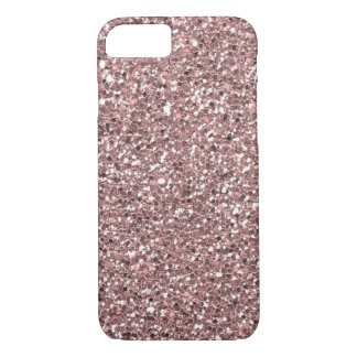 Luxe Pink Glitter Texture iPhone 8/7 Case