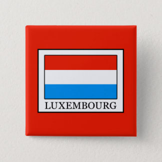 Luxembourg 15 Cm Square Badge
