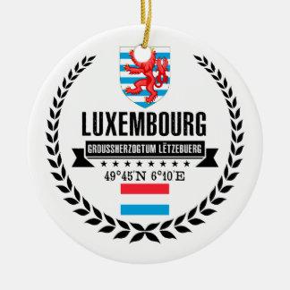 Luxembourg Ceramic Ornament