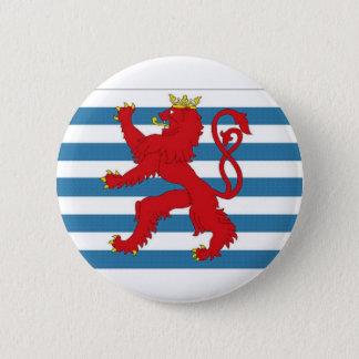 Luxembourg Civil Ensign 6 Cm Round Badge