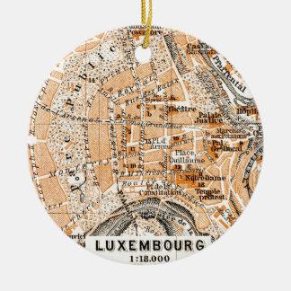 Luxembourg Round Ceramic Decoration