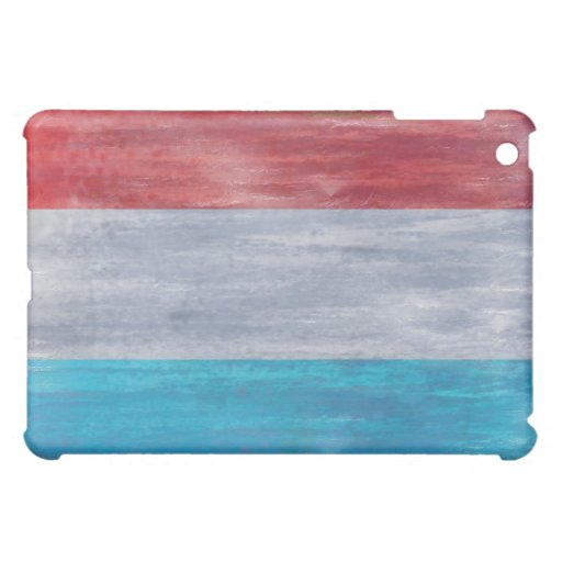 Luxembourg distressed flag iPad mini case