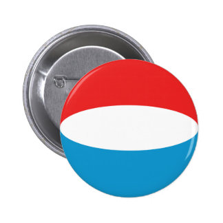 Luxembourg Fisheye Flag Button