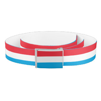 Luxembourg Flag Belt