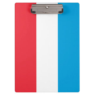 Luxembourg Flag Clipboard