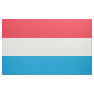 Luxembourg Flag Fabric