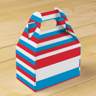 Luxembourg Flag Favour Box