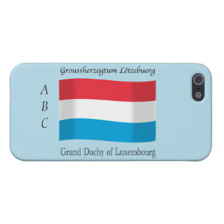 Luxembourg Flag iPhone 5/5S Cases