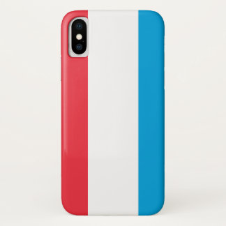 Luxembourg Flag iPhone X Case