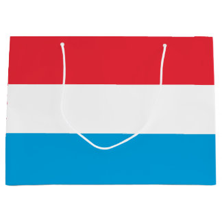 Luxembourg Flag Large Gift Bag