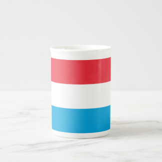 Luxembourg Flag Tea Cup
