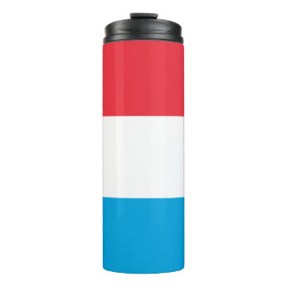 Luxembourg Flag Thermal Tumbler