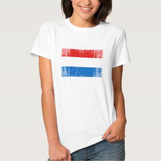 Luxembourg Flag Tshirt