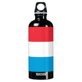 Luxembourg Flag Water Bottle