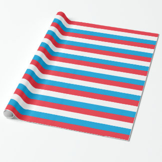 Luxembourg Flag Wrapping Paper