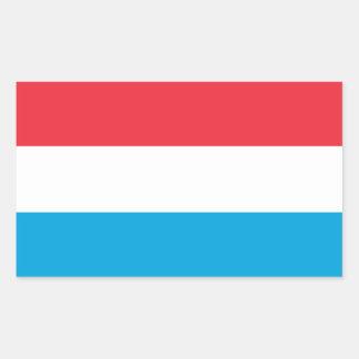 Luxembourg - Lëtzebuerg - Luxemburg Rectangular Sticker