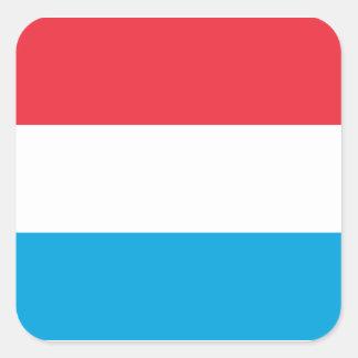 Luxembourg - Lëtzebuerg - Luxemburg Square Sticker