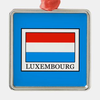 Luxembourg Metal Ornament