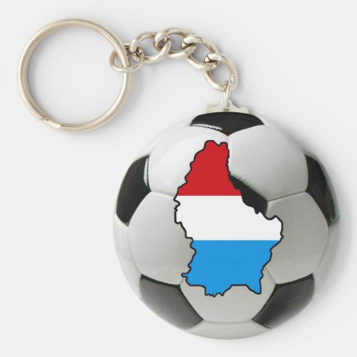 Luxembourg national team key chains