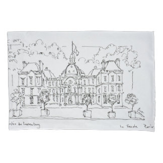 Luxembourg Palace | rue de Vaugirard, Paris Pillowcase