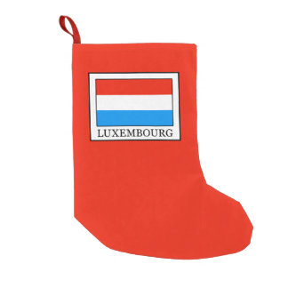 Luxembourg Small Christmas Stocking