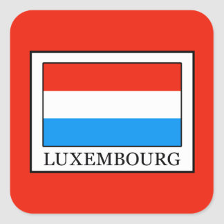 Luxembourg Square Sticker