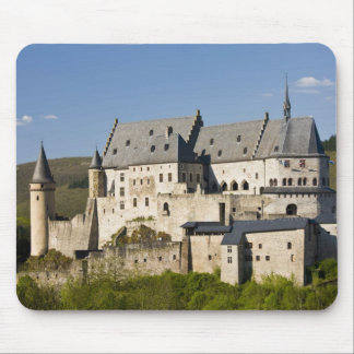 Luxembourg, Vianden. Vianden Chateau (b. 15th Mouse Pad