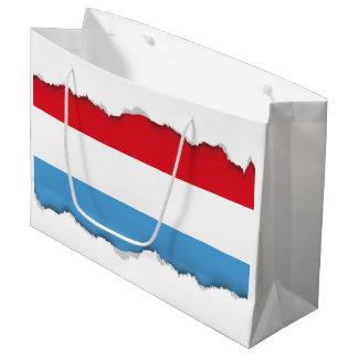 Luxemburg Flag Large Gift Bag